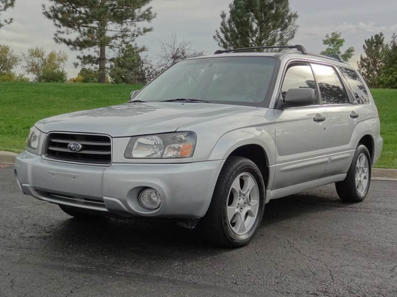 2004 subaru forester for sale in denver co. Black Bedroom Furniture Sets. Home Design Ideas