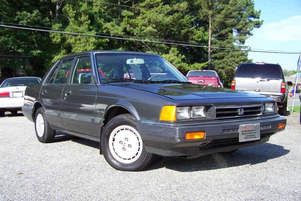 1985 Honda Accord For Sale 1985 Honda Accord 4dr Sedan