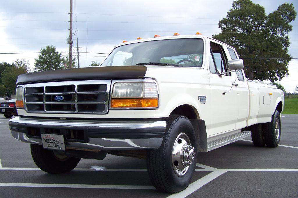 1995 ford f 350 for sale in canton ga. Black Bedroom Furniture Sets. Home Design Ideas
