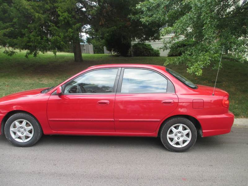 2002 kia spectra for sale in blue springs mo. Black Bedroom Furniture Sets. Home Design Ideas
