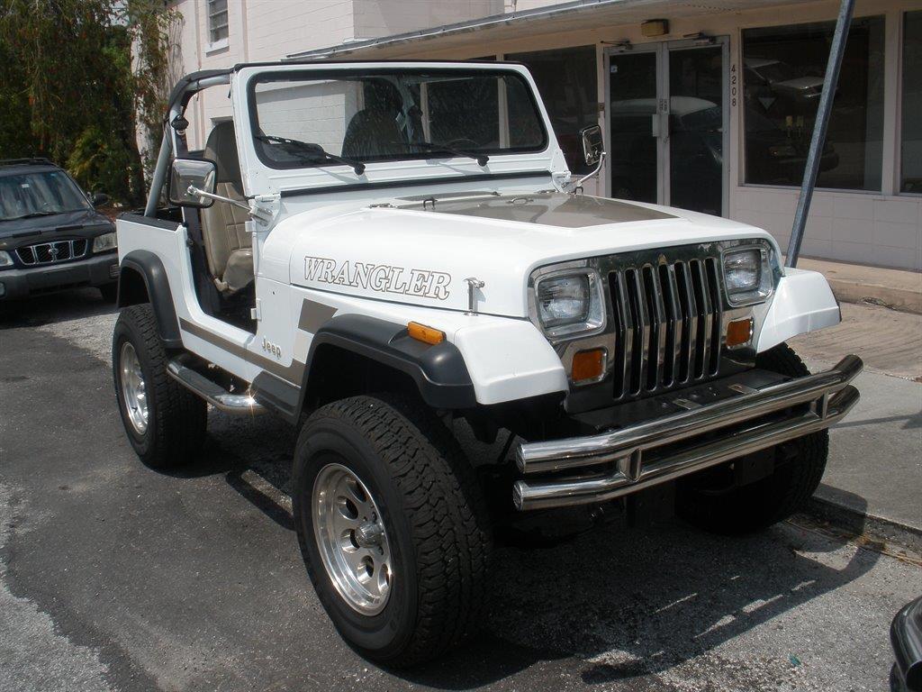 1991 jeep wrangler for sale in tampa fl. Black Bedroom Furniture Sets. Home Design Ideas