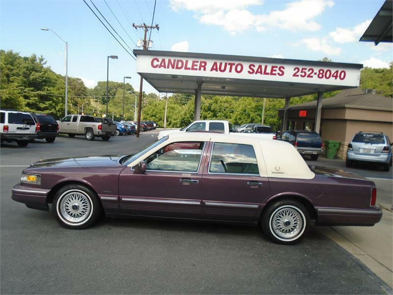 1996 lincoln town car for sale in asheville nc. Black Bedroom Furniture Sets. Home Design Ideas