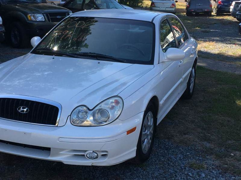 2002 Hyundai Sonata For Sale In Hanover Township Pa