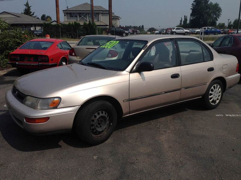 1995 toyota corolla for sale in pacific wa. Black Bedroom Furniture Sets. Home Design Ideas