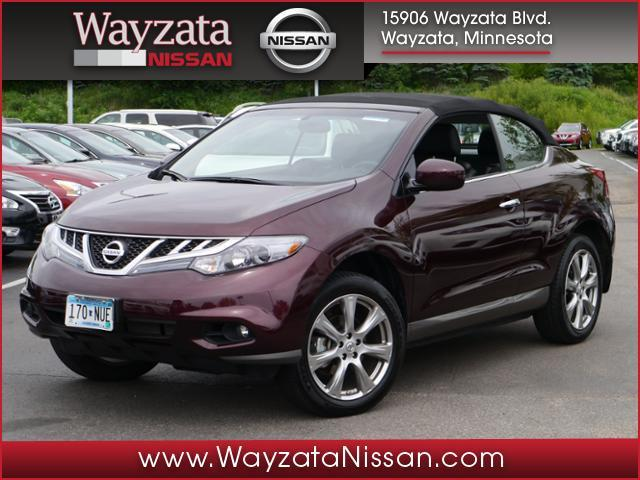 2014 nissan murano crosscabriolet for sale in wayzata mn. Black Bedroom Furniture Sets. Home Design Ideas