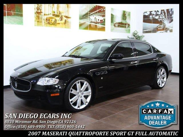 2007 maserati quattroporte for sale. Black Bedroom Furniture Sets. Home Design Ideas