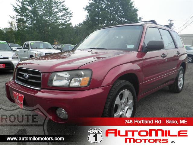 2004 subaru forester for sale in saco me. Black Bedroom Furniture Sets. Home Design Ideas