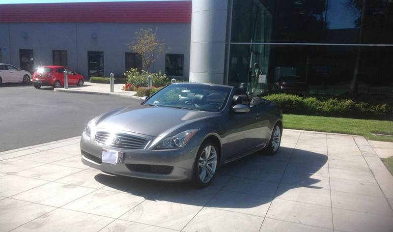 2009 infiniti g37 convertible for sale in san jose ca. Black Bedroom Furniture Sets. Home Design Ideas