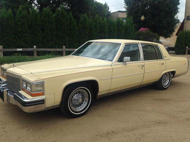 1986 Cadillac Fleetwood Brougham for sale - Carsforsale.com