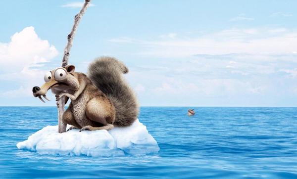 Crítica Ice Age 4: La formación de los continentes - Scratch
