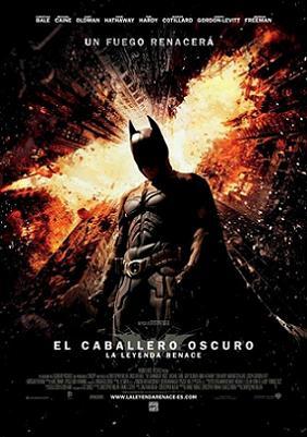 Critica cine - El Caballero Oscuro La Leyenda Renace - cartel poster