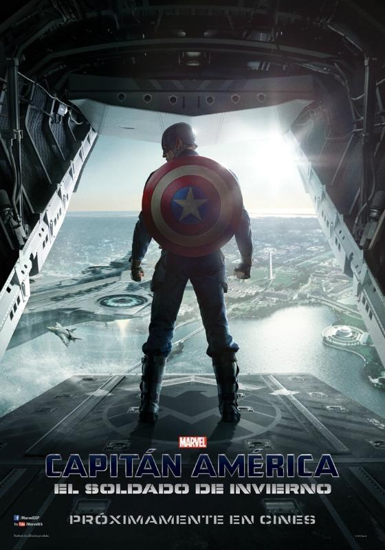 Capitán América El soldado de invierno - poster - cartel