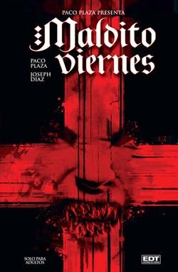 MALDITO VIERNES_portada del cómic de Paco Plaza y Joseph Díaz