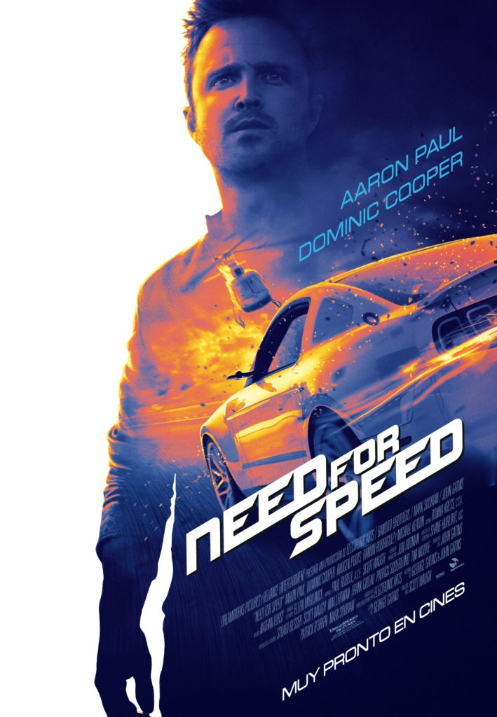 Teaser póster Need for Speed