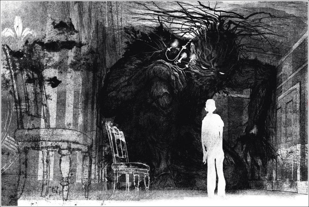 A Monster Calls. Patrick Ness. Ilustración de Jim Kay.