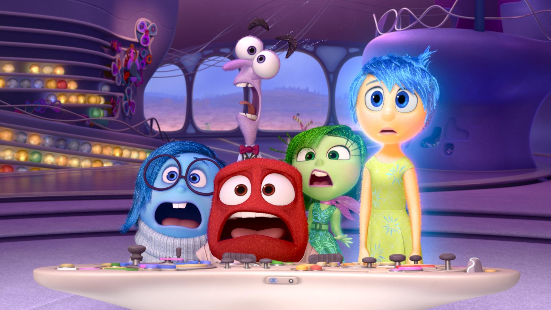 Del revés - Inside Out - Pixar