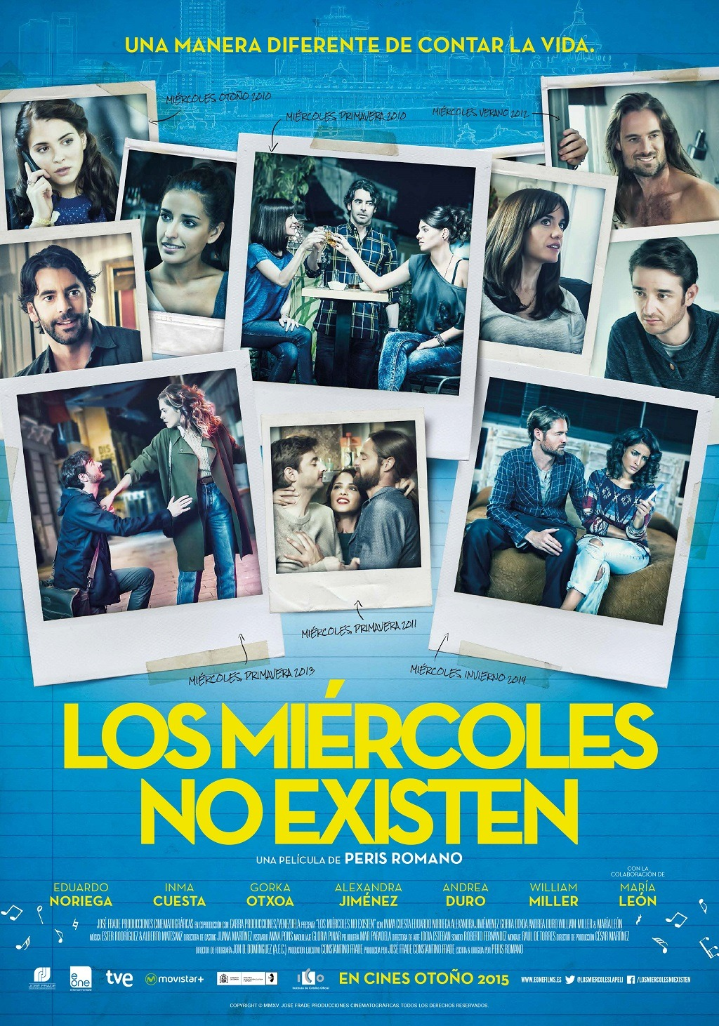 cartel final LOS MIÉRCOLES NO EXISTEN