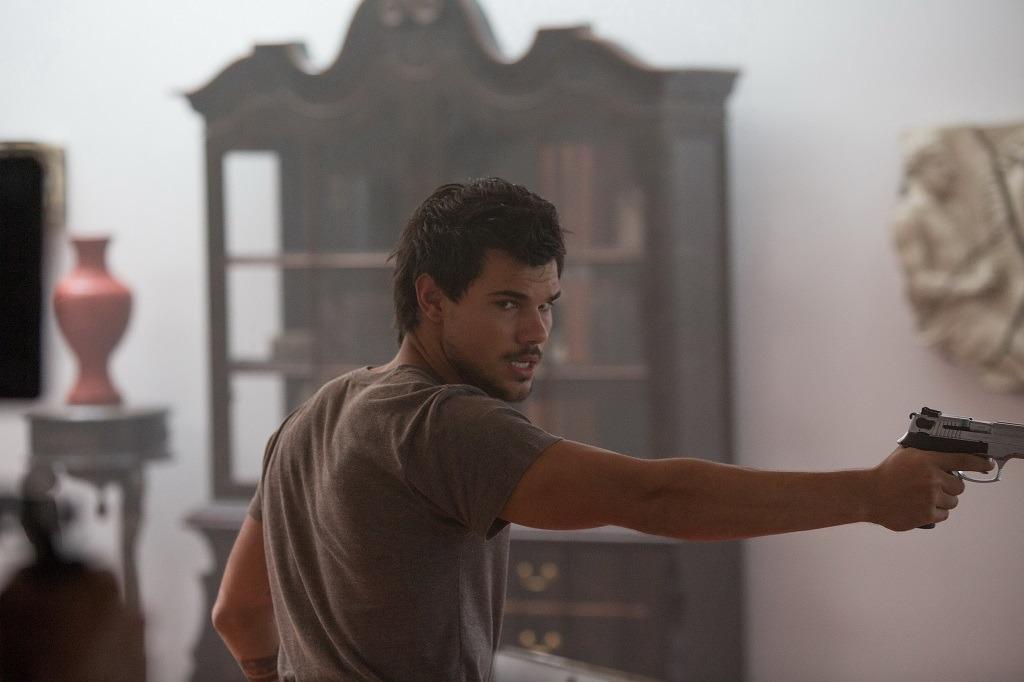 Taylor Lautner en Tracers