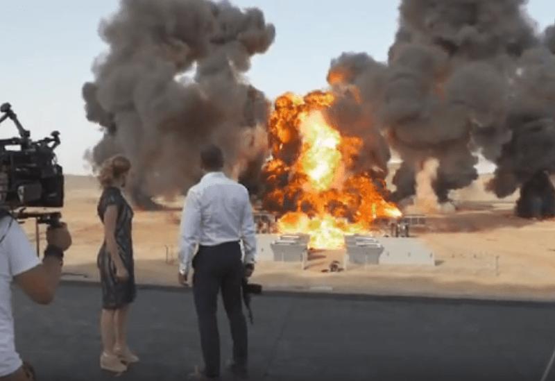 La explosión más grande de la historia del cine