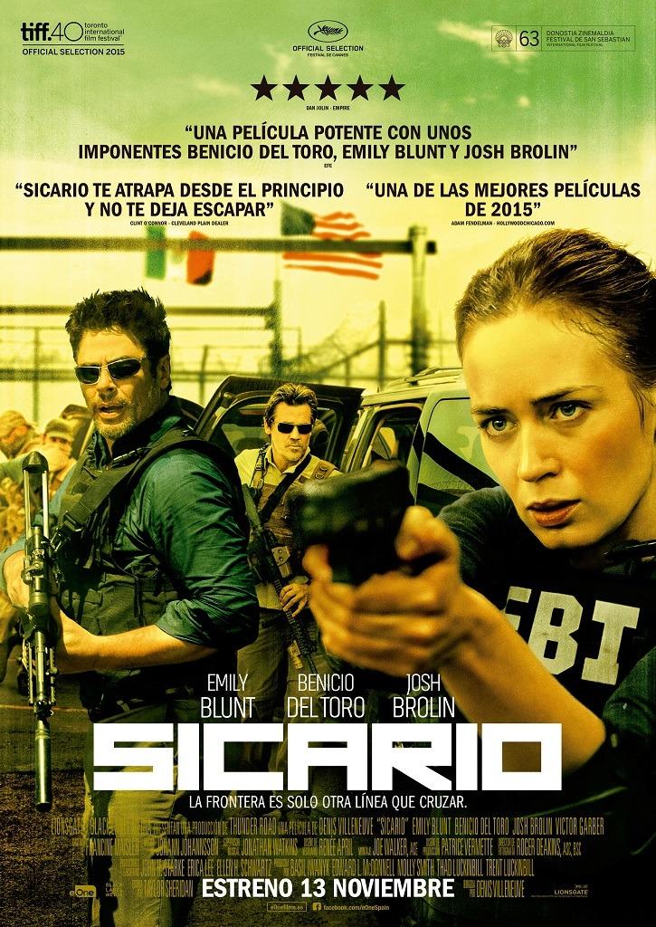 Cartel Poster SICARIO