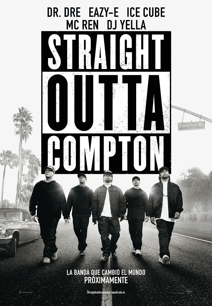 Straight Outta Compton - cartel poster