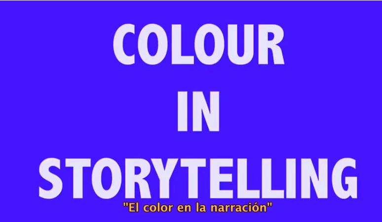 El uso del color en la narración