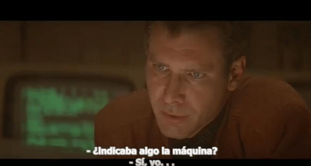 Blade Runner - Escena eliminada del montaje con Harrison Ford