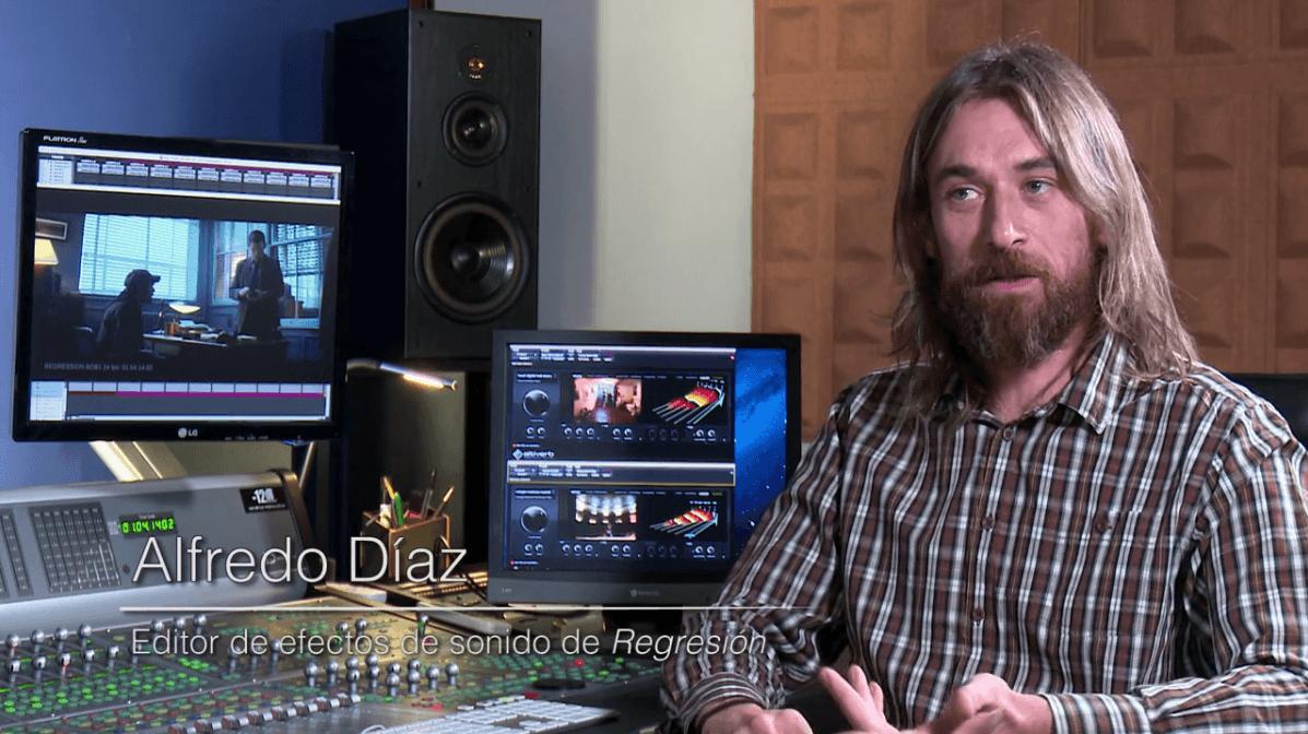 El diseño de sonido en Regresión