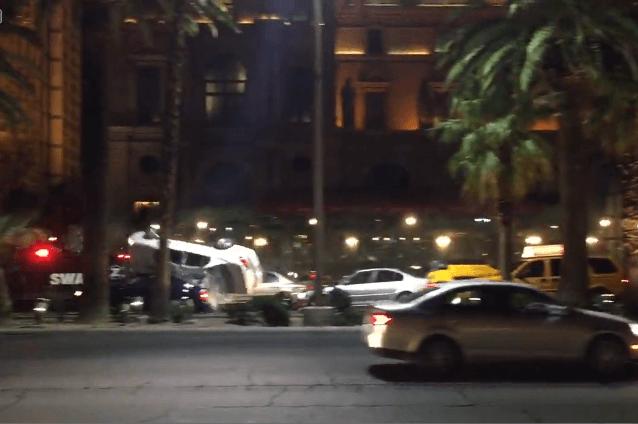 Rodaje de Bourne en Las Vegas