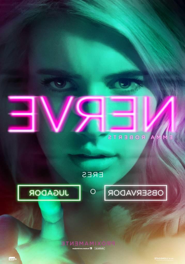 Cartel de 'Nerve' con Emma Roberts
