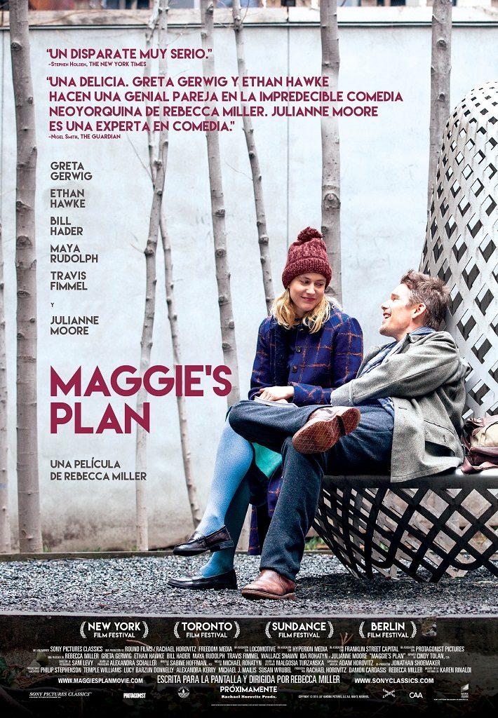 Cartel de 'Maggie's Plan'