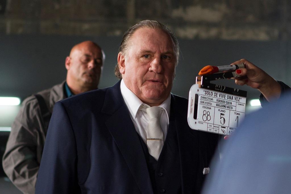 Gerard Depardieu en 'Solo se vive una vez'