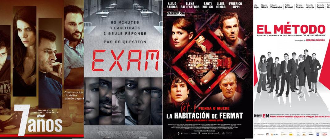 4 películas que transcurren en una sola habitación