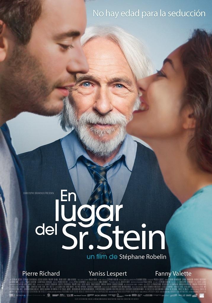 En lugar del Sr. Stein - cartel