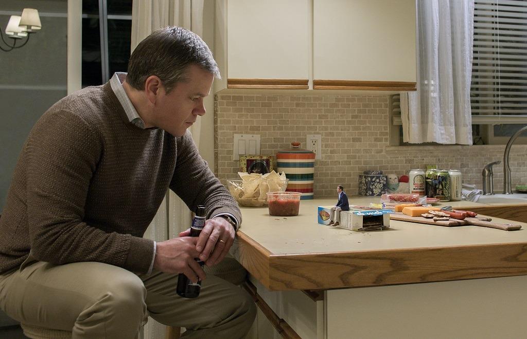 Matt Damon en 'Una vida a lo grande'