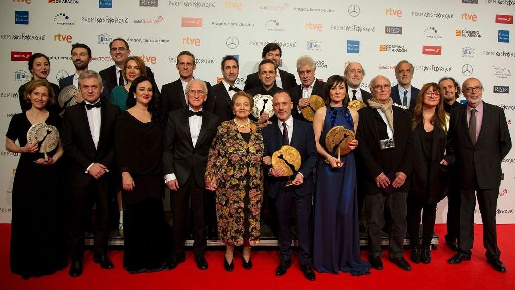 Premios Forqué 2017 - Galardonados