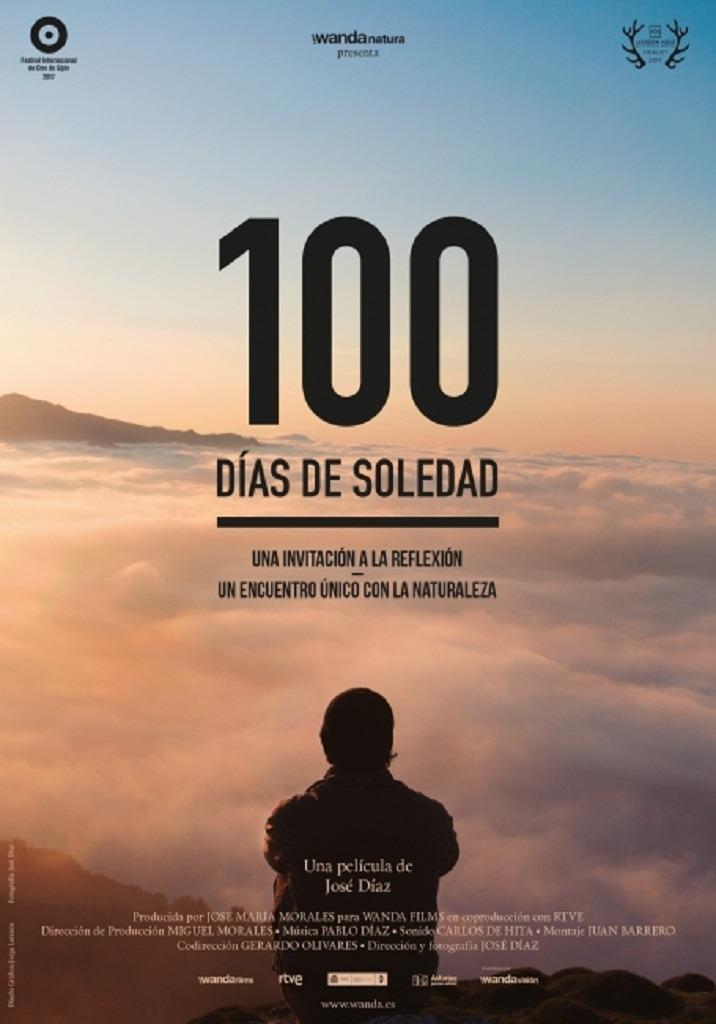 100 días de soledad - cartel