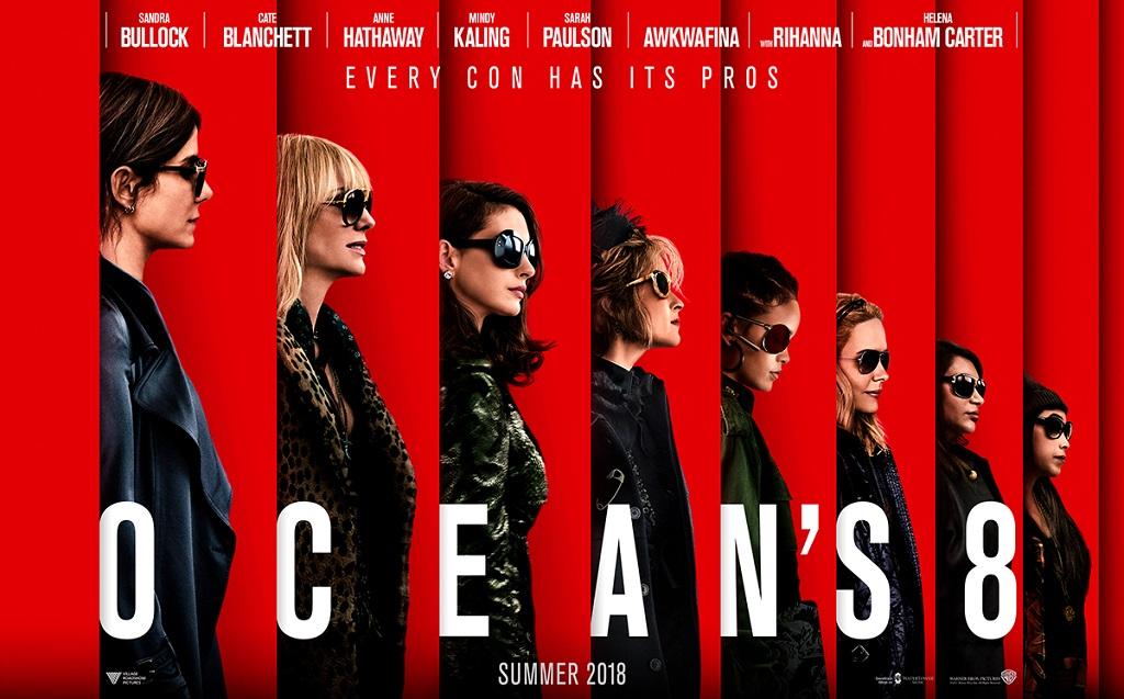 Oceans 8 - poster