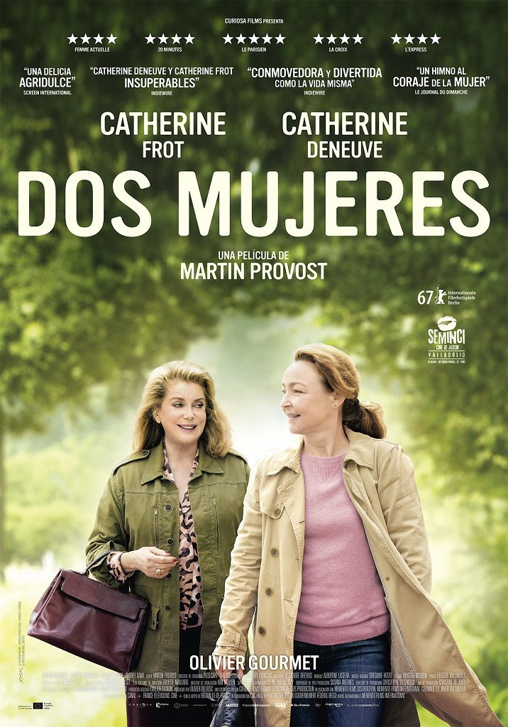 Dos mujeres - poster