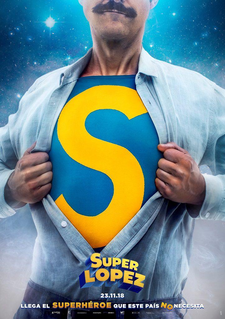 Superlópez - Póster