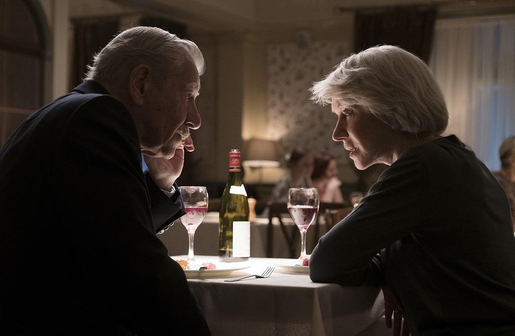 """Ian McKellen y Helen Mirren en """"The_Good_Liar"""""""