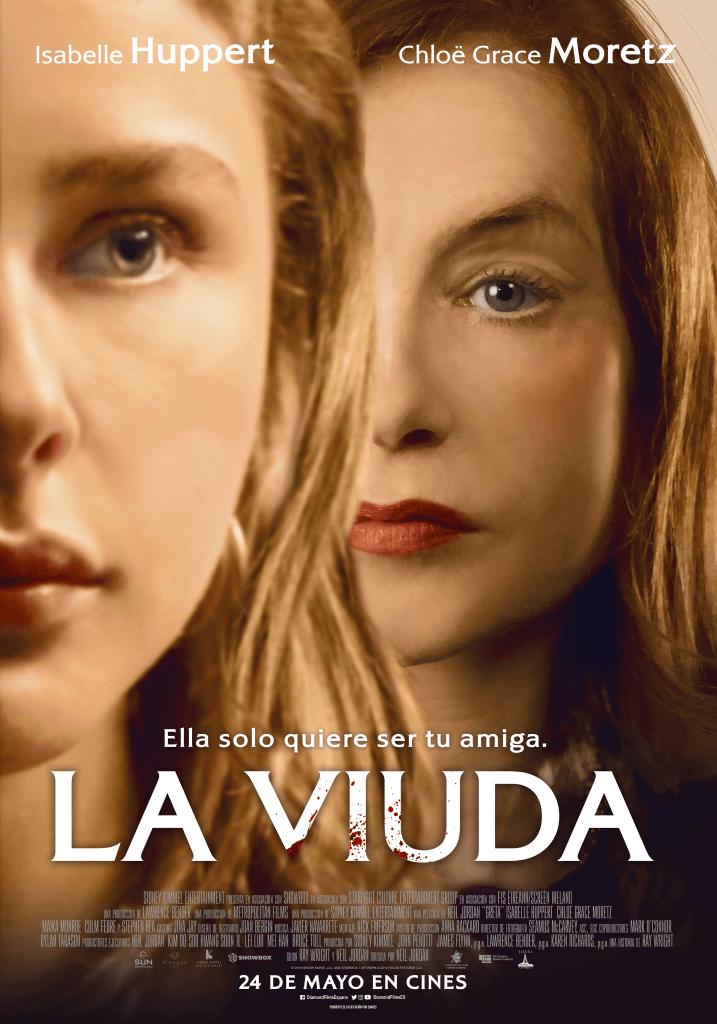 La viuda - poster