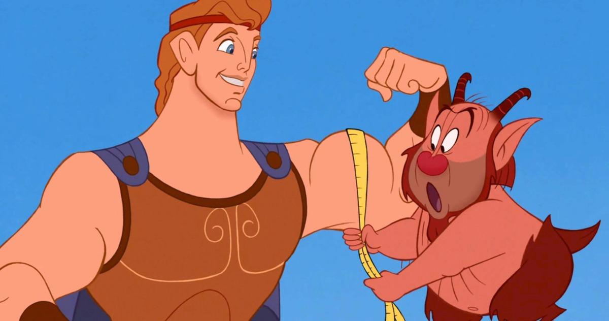 Está sucediendo el remake de Hércules de Disney Vengadores los