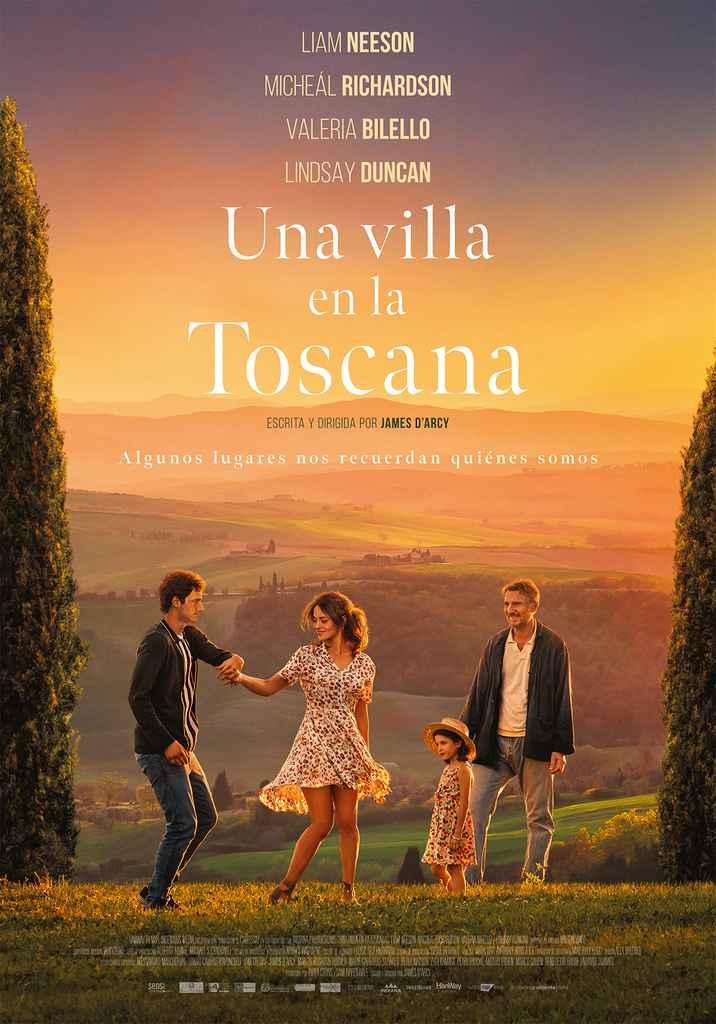 Una villa en la Toscana