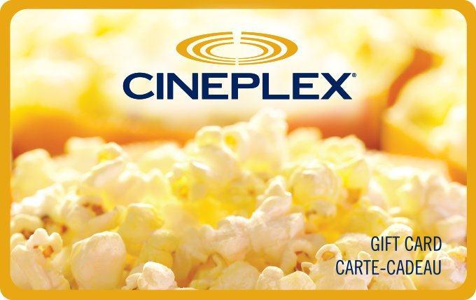 Carte Cadeau Cineplex.Cineplex Gift Cards