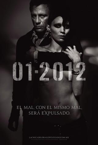 """Se estrena en México """"La chica del dragón tatuado"""" por David Fincher"""