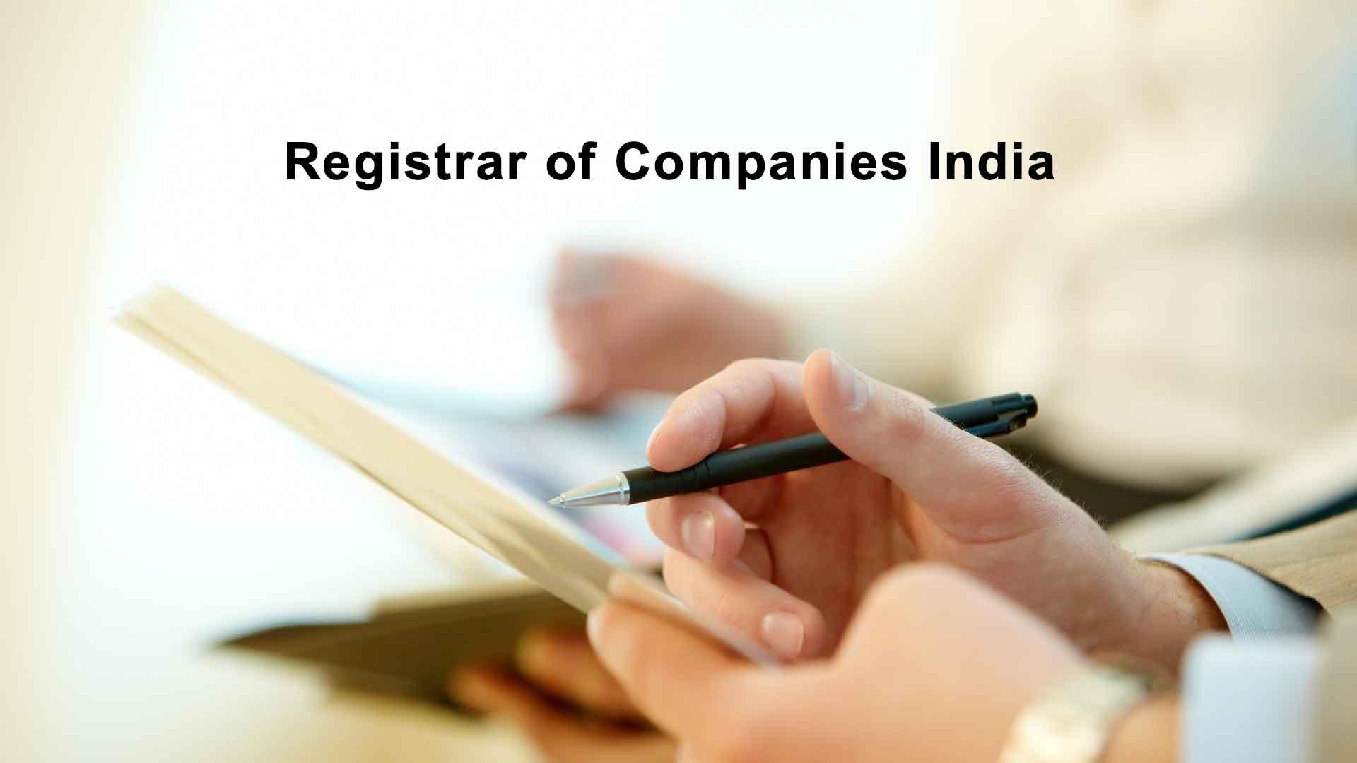 Registrar of Companies Bangalore, Karnataka