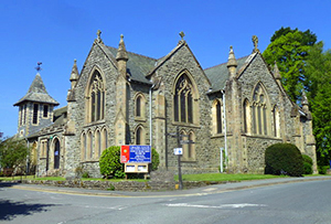 Holy Trinity Church in Llandrindod Wells