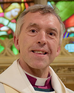 Rt Rev John Davies, Bishop of Swansea and Brecon