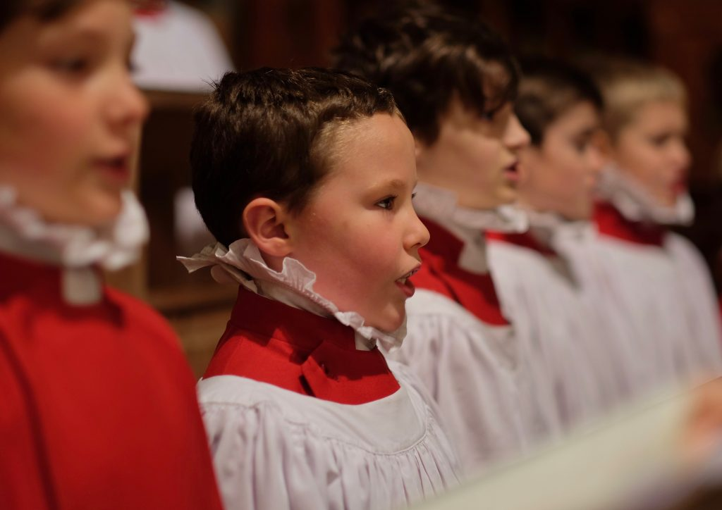 sweet singing in the choir christmas for the chorister. Black Bedroom Furniture Sets. Home Design Ideas